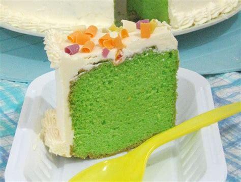 membuat bolu simple resep cara membuat sponge cake bolu pandan mudah