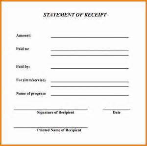 7 generic receipt expense report