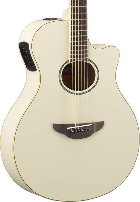 Yamaha Apx600 yamaha apx600 st 229 lstr 228 ngad gitarr vintage white
