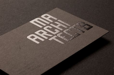 architect business card press print digital melbourne ma architects business cards