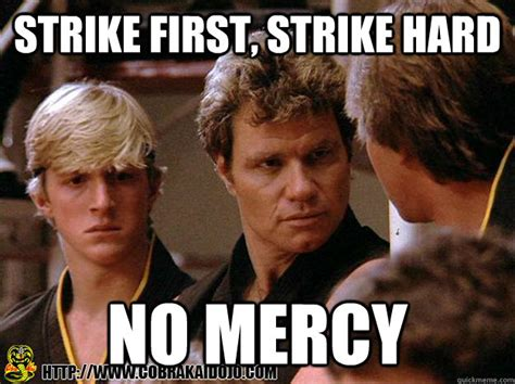 Nerd Karate Kid Meme - cobra kai quotes quotesgram