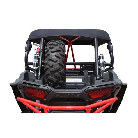 spare tire bed mount dragonfire bed mount spare tire carrier black polaris rzr xp 4 1000 2014 2015