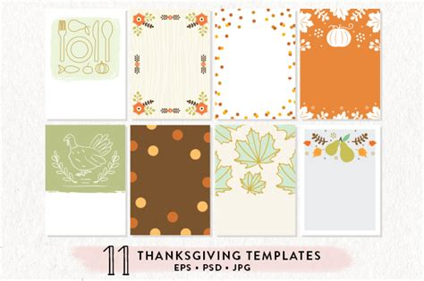 thanksgiving card template psd template 11 thanksgiving printables bundle 187 logotire