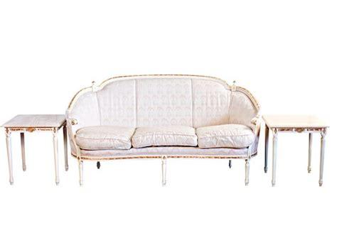 francesca sofa francesca sofa white french brocade sofa archiverentals