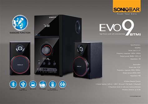 Sonic Gear Speaker Evo 9 Btmi Bluetooth Usb Fm Radio Garansi Resmi sonic gear 2 1 bluetooth speaker ev end 8 8 2017 12 00 am