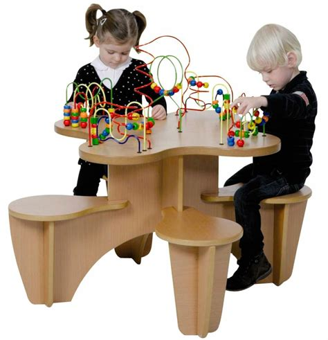 wooden bead table wooden bead activity table kinderspell