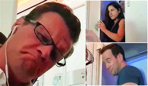 couple caught having sex in bathroom american couple s mile high club moment caught on camera
