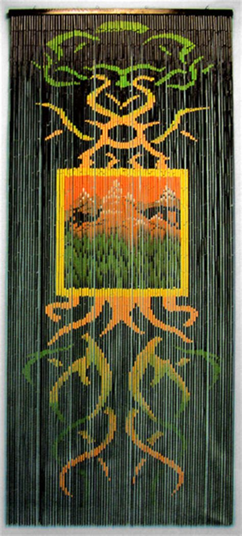 bob marley door beads beaded curtains bamboo beaded curtain with decorative earth motif