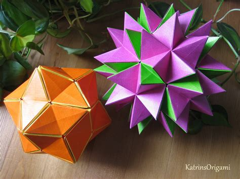 Revealed Flower Origami - origami revealed flower popup