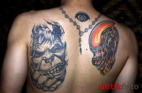 tato keren indo lengkap koleksi tato dimas anggara krian sidoarjo