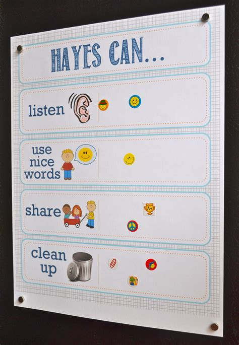 printable incentive charts for preschool printable toddler incentive chart best of pinterest