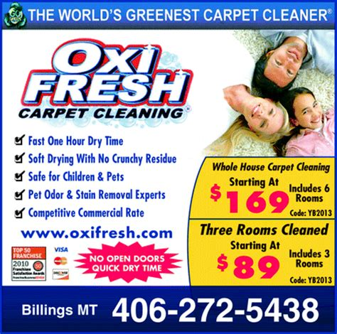 carpet and rug cleaners billings mt oxi fresh carpet cleaning billings mt 59102 yellowbook