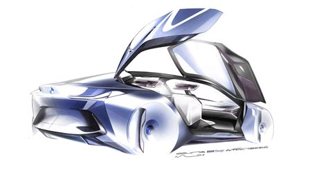 next vision bmw vision next 100 the car of the future