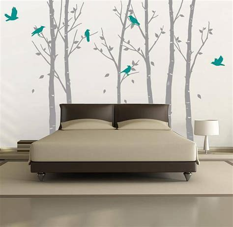 zazous wall stickers wall stickers forest grey by zazous