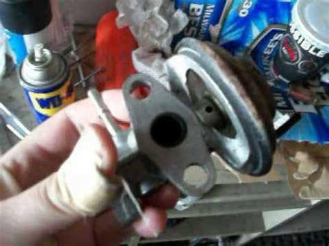 2000 toyota rav4 egr valve cleaning youtube