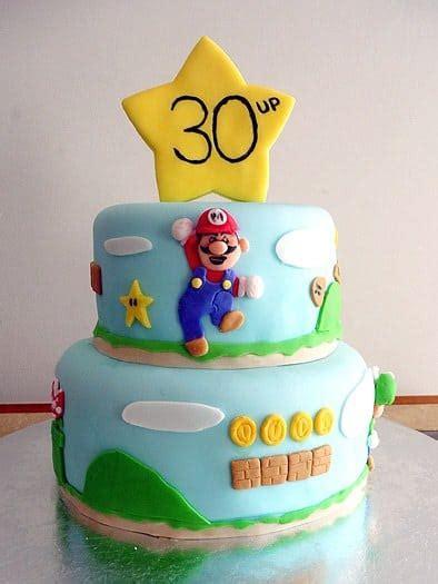 super mario brothers birthday cake brown eyed baker