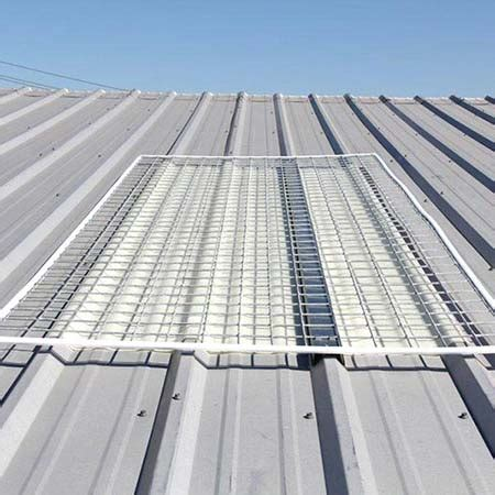 Standing Seam Corrugated Skylights For Metal Roofs Cai
