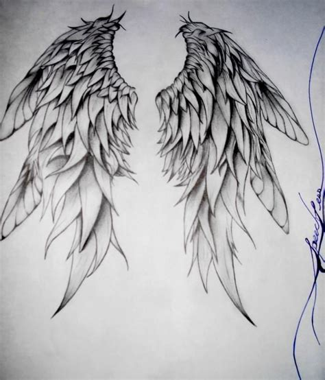 Drawing Wings by 25 Best Ideas About Wings Drawing On