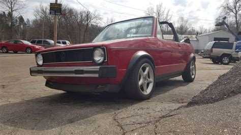 volkswagen rabbit custom 1980 volkswagen rabbit convertible with custom interior 4