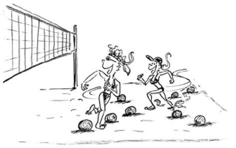 giochi di toccare il sedere volley riscaldamento il giardino dei palloni