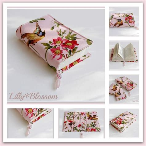 pattern fabric book cover book cover with by lillyblossom sewing pattern