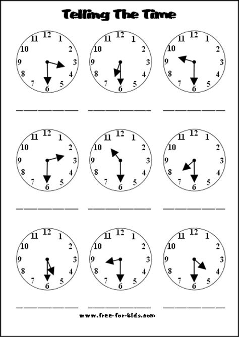 printable clock for learning to tell time it s truly shocking how many middle schoolers can t tell