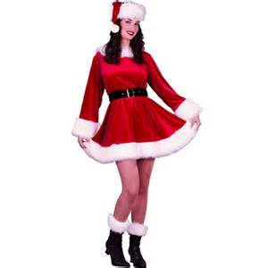 Claus Costume Adult Womens Santa Outfit » Home Design 2017
