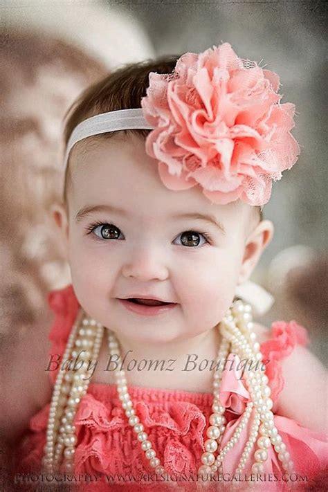 headbands for baby baby headband headband coral lace headband baby headband newborn headband