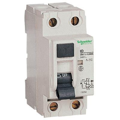 Schneider Electric Id Rccb 16252 schneider rmg250302 rccb dp ac 25a 30ma
