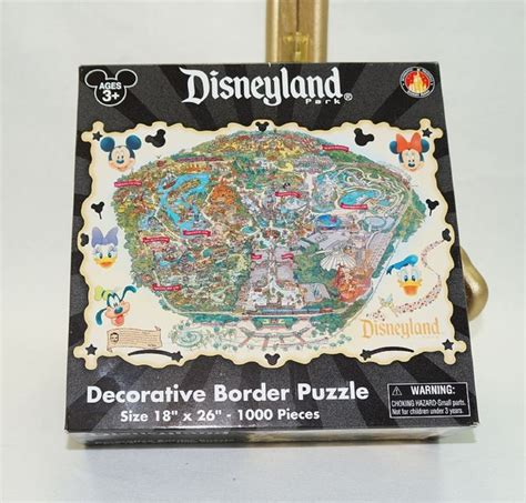 disneyland decorative border puzzle map 22 best disney mania images on pinterest disney cruise