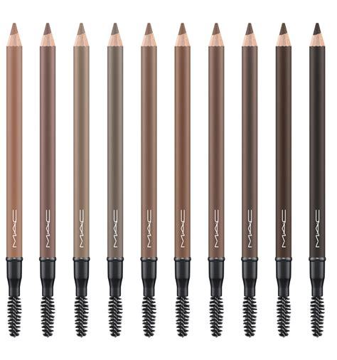 Mac Eyebrow Pencil mac cosmetics brows are it swatch and review