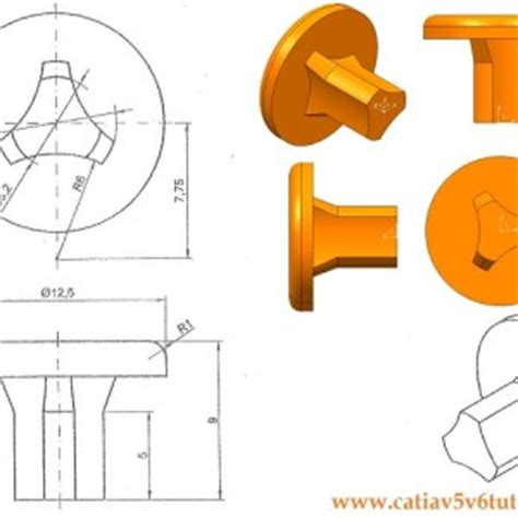 pattern a sketch catia how to make a threaded hole in catia v5
