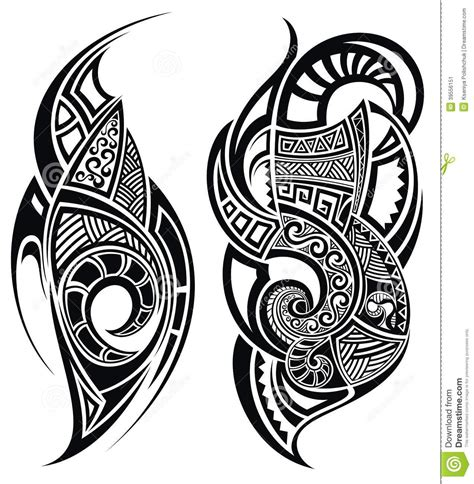 white tribal tattoo free coloring pages of maori pattern