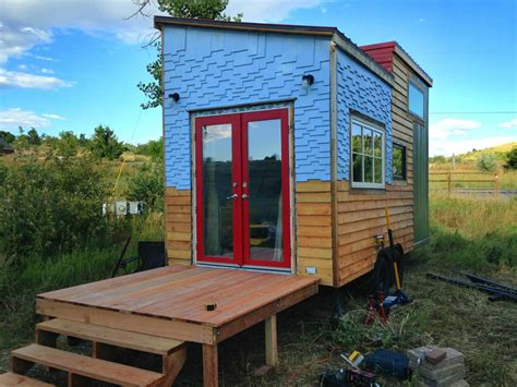 tiny house colorado modern mosaic tiny house
