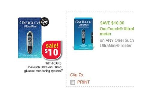 one touch ultra mini coupon