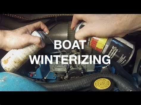how to winterize a boat inboard outboard video how to winterize an i o boat using inboard outboard kit