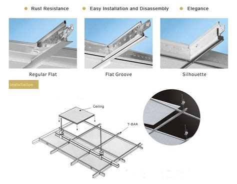 Suspended Ceiling Parts Suspended Ceiling Grid Suspended Ceiling Grid Parts