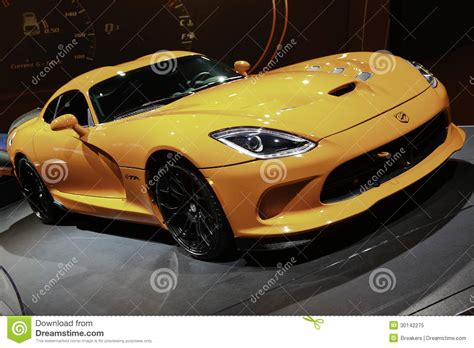 Auto Held by 2014 Srt Viper Ta Showcased At The New York International