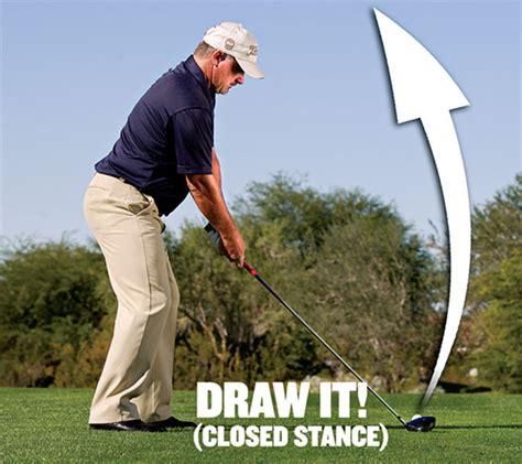 swing nel golf consigli di golf tecnica come eseguire un leggero draw