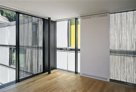 sliding curtain panel sliding panel curtains drapery room ideas
