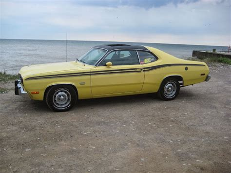 plymouth duster 360 classic wheels and vintage wings that 70s car 1974