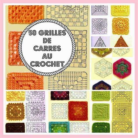 Grille Coeur Tricot by Mes Favoris Tricot Crochet 50 Grilles De Carr 233 S Au Crochet