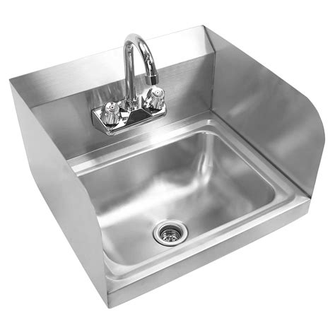 restaurant washing sink commercial stainless steel wall mount wash washing