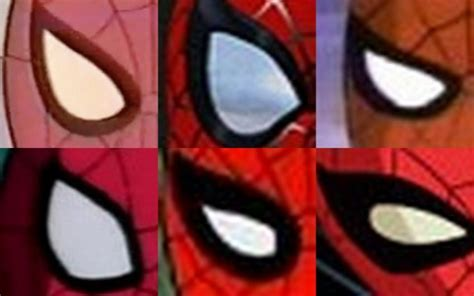 the eyes have it: spider man through the ages, animated