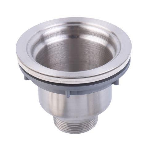stainless steel kitchen sink drain assembly waste strainer