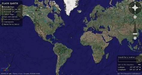 view map earth view earth in web browser plus easy switching with