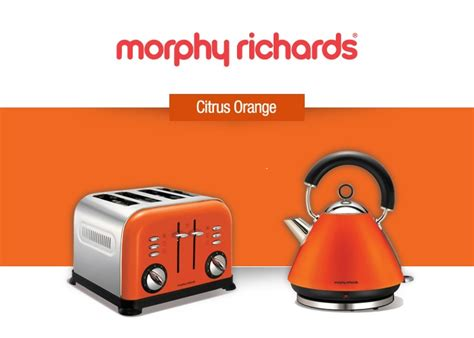Funky Kettle And Toaster Sets Morphy Richards Competition Colours The Kitchen