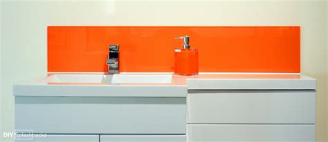 bathroom splashback ideas bathroom glass splashbacks ideas