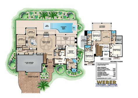 House Plans With Swimming Pools | pool house plans see plans including pool cabana to