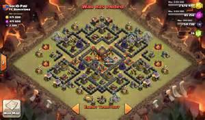 Anti hogs layout th10 clash of clans klan coc polska